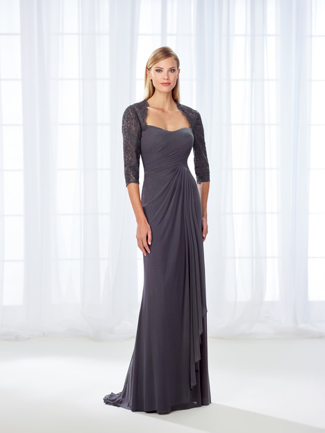 118681 (gray) Mother of the Bride                              dress by Cameron Blake