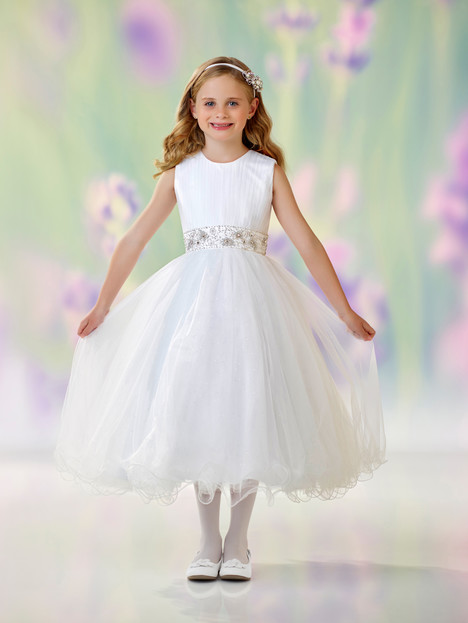 118303 (white) Flower Girl                                      dress by Joan Calabrese