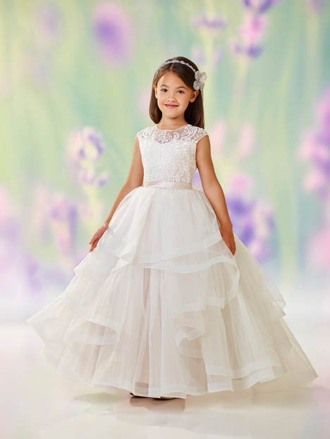 118310 (ivory + petal) Flower Girl                                      dress by Joan Calabrese