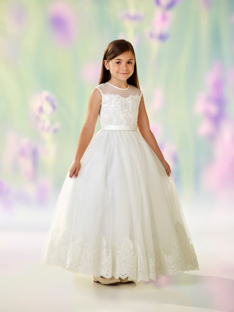118318 (ivory) Flower Girl                                      dress by Joan Calabrese