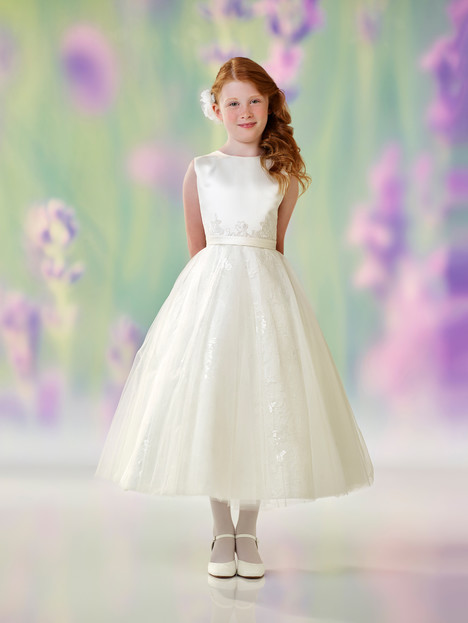 118319 (ivory) Flower Girl                                      dress by Joan Calabrese