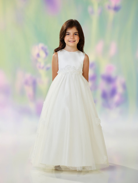 118320 (ivory) Flower Girl                                      dress by Joan Calabrese
