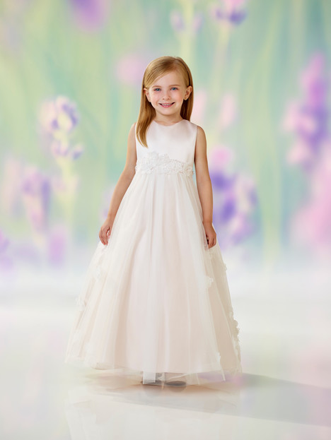 118320 (petal) Flower Girl                                      dress by Joan Calabrese