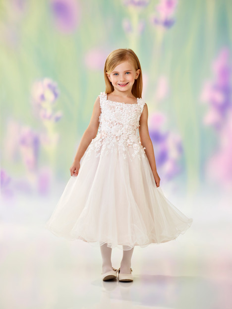 118321 (ivory + petal) Flower Girl                                      dress by Joan Calabrese