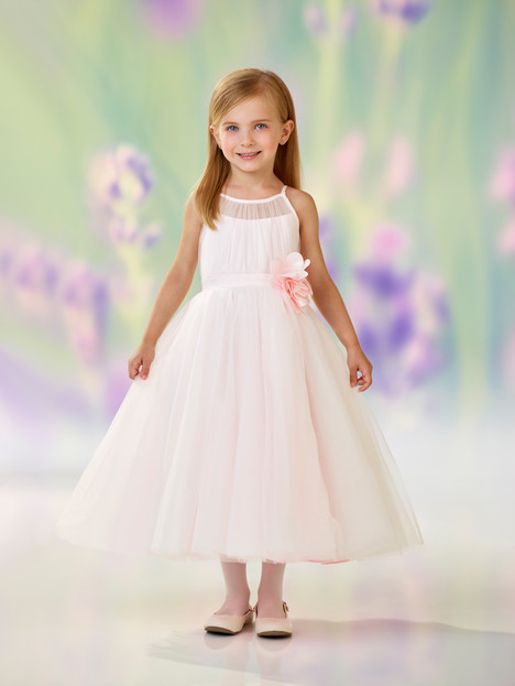118322 (pink) Flower Girl                                      dress by Joan Calabrese