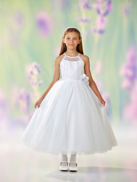 118322 (white) Flower Girl                                      dress by Joan Calabrese