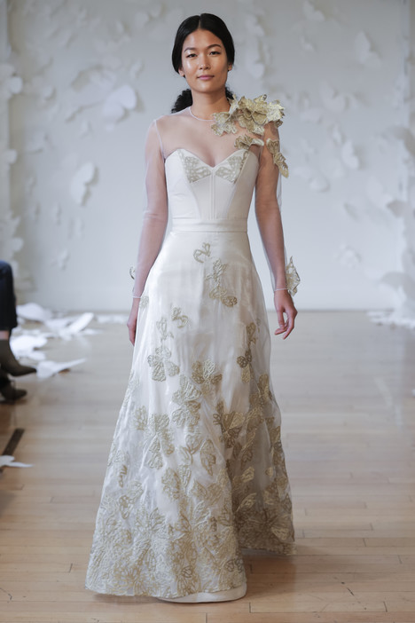 Fritillary Wedding                                          dress by Carol Hannah