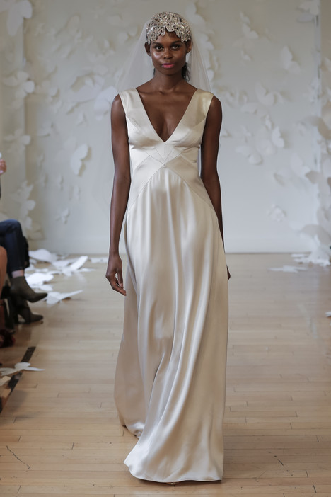 Lineata Wedding                                          dress by Carol Hannah
