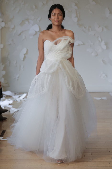 Cariosa Wedding                                          dress by Carol Hannah