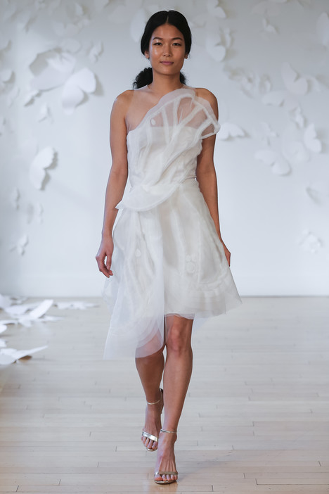 Tristis Wedding                                          dress by Carol Hannah