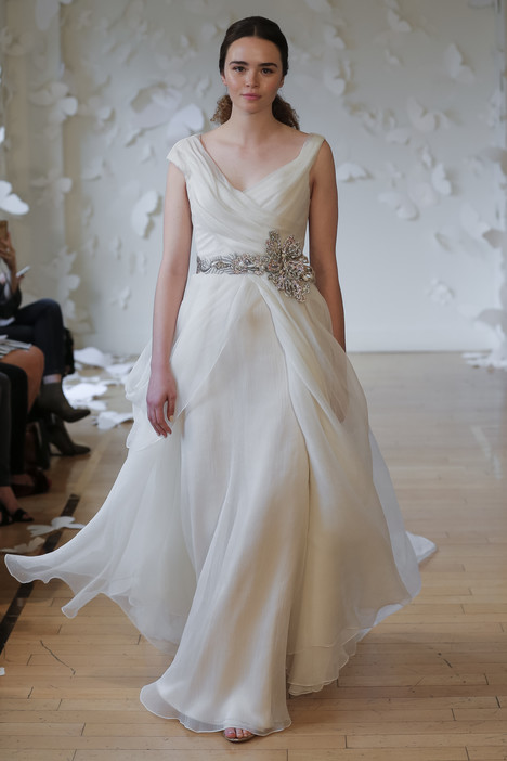 Alurina Wedding                                          dress by Carol Hannah