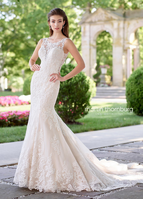 Allegro (118255) Wedding                                          dress by Martin Thornburg for Mon Cheri