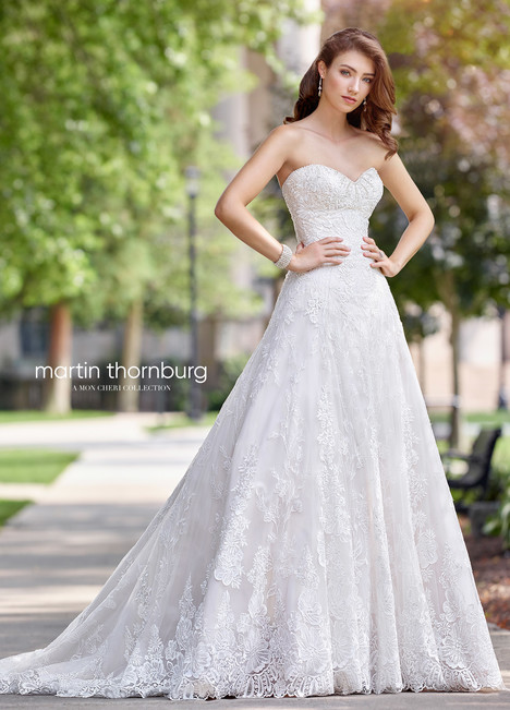 Arabesque (118269) Wedding                                          dress by Martin Thornburg for Mon Cheri