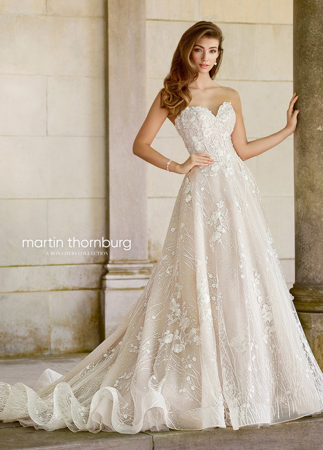 Coda (118281) Wedding                                          dress by Martin Thornburg for Mon Cheri