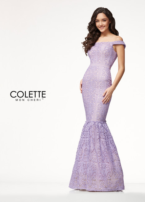 CL18202 (Purple) Prom                                             dress by Colette by Mon Cheri