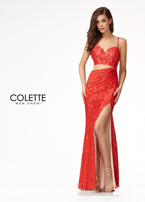 CL18204 (Red) Prom                                             dress by Colette by Mon Cheri