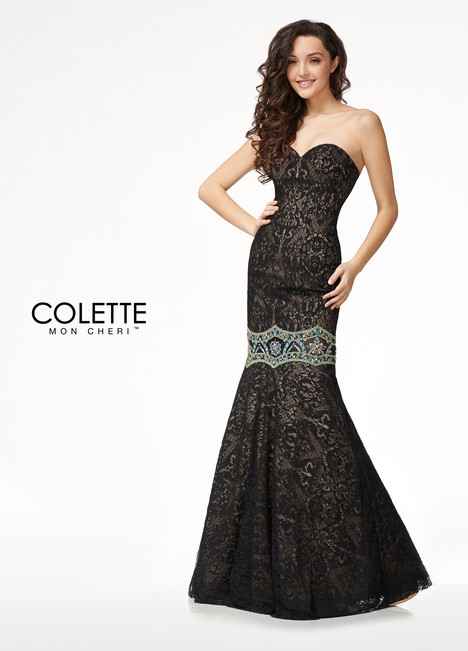 CL18208 (Black) Prom                                             dress by Colette by Mon Cheri