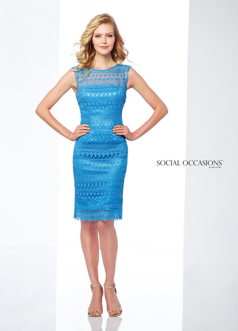 118862 (Blue) Mother of the Bride                              dress by Mon Cheri : Social Occasions
