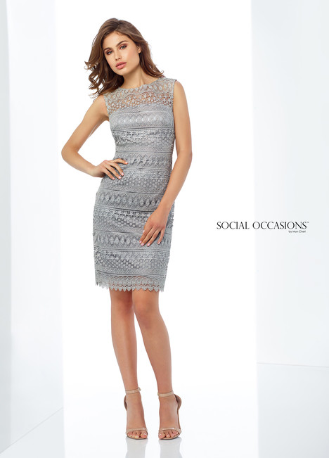 118862 (Grey) Mother of the Bride                              dress by Mon Cheri : Social Occasions