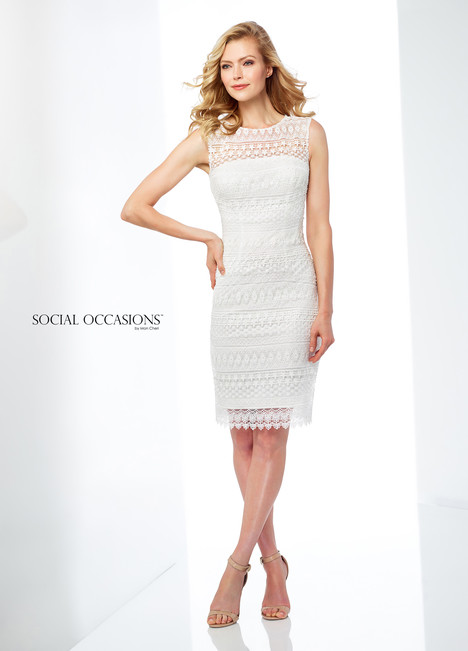118862 (White) Mother of the Bride                              dress by Mon Cheri : Social Occasions