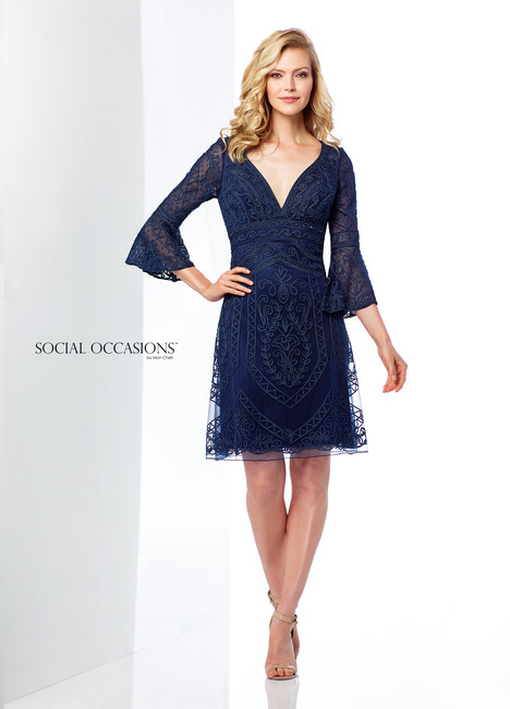 118863 (Navy) Mother of the Bride                              dress by Mon Cheri : Social Occasions