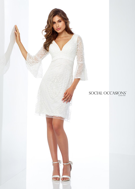 118863 (White) Mother of the Bride                              dress by Mon Cheri : Social Occasions