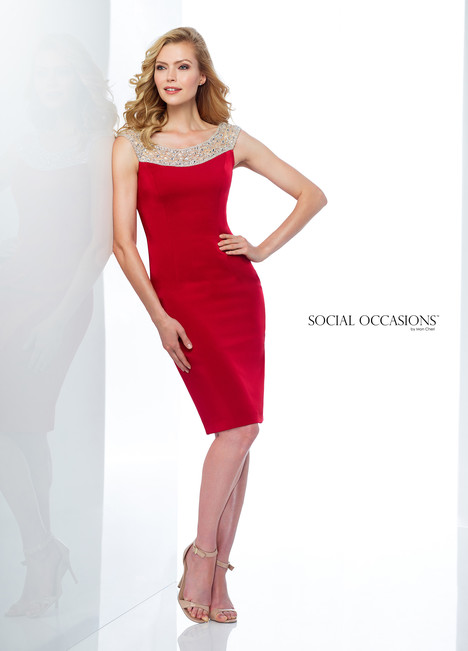 118864 (Red) Mother of the Bride                              dress by Mon Cheri : Social Occasions