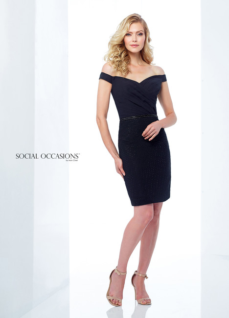 118867 (Black) Mother of the Bride                              dress by Mon Cheri : Social Occasions