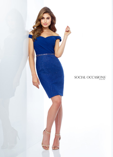 118867 (Blue) Mother of the Bride                              dress by Mon Cheri : Social Occasions