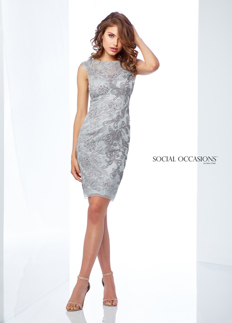 118869 (Grey) Mother of the Bride                              dress by Mon Cheri : Social Occasions
