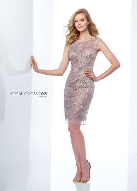 118869 (Mocha) Mother of the Bride                              dress by Mon Cheri : Social Occasions