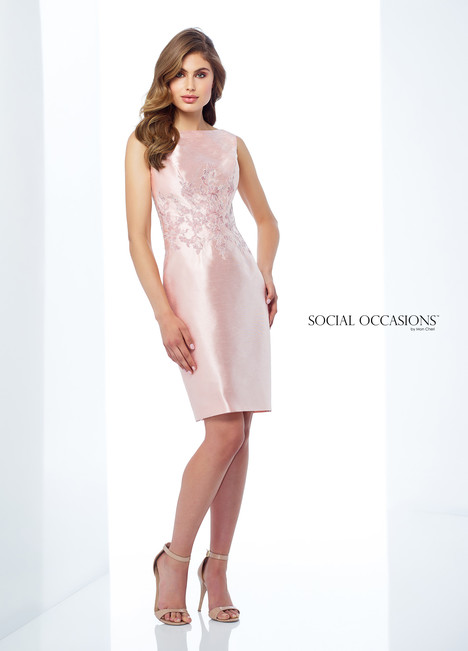 118872 (Pink) Mother of the Bride                              dress by Mon Cheri : Social Occasions