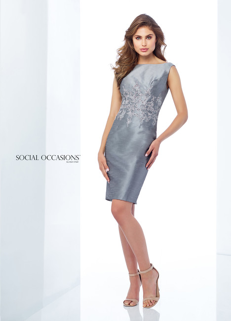 118872 (Silver) Mother of the Bride                              dress by Mon Cheri : Social Occasions