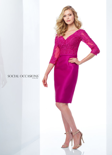 118873 (Pink) Mother of the Bride                              dress by Mon Cheri : Social Occasions
