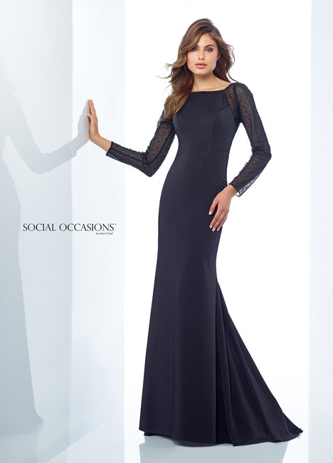 118876 (Black) Mother of the Bride                              dress by Mon Cheri : Social Occasions