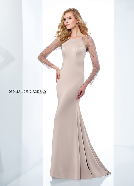 118876 (Grey) Mother of the Bride                              dress by Mon Cheri : Social Occasions