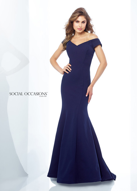 118879 (Navy) Mother of the Bride                              dress by Mon Cheri : Social Occasions