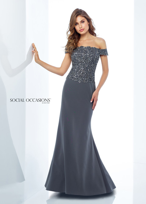 118880 (Grey) Mother of the Bride                              dress by Mon Cheri : Social Occasions