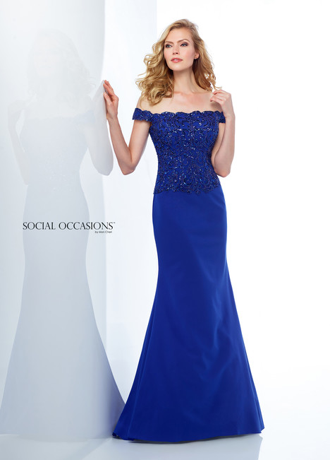 118880 (Royal) Mother of the Bride                              dress by Mon Cheri : Social Occasions