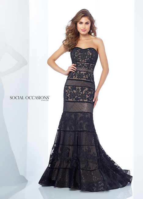 118882 (Black) Mother of the Bride                              dress by Mon Cheri : Social Occasions