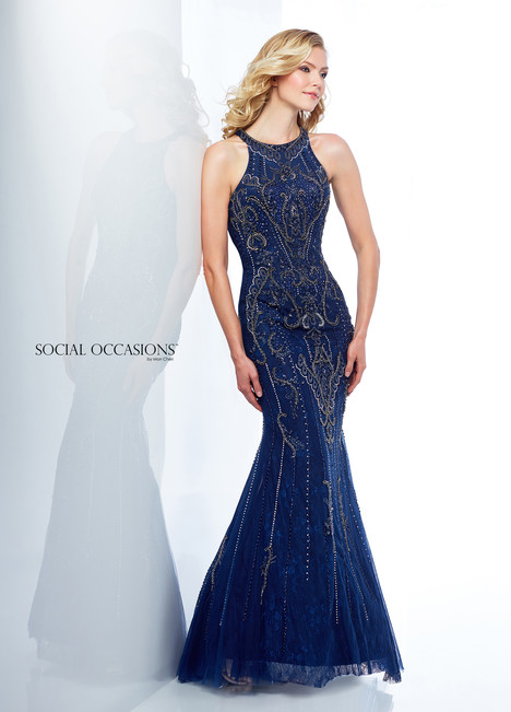 118884 (Navy) Mother of the Bride                              dress by Mon Cheri : Social Occasions
