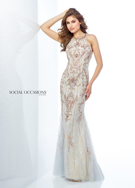 118884 (Silver) Mother of the Bride                              dress by Mon Cheri : Social Occasions