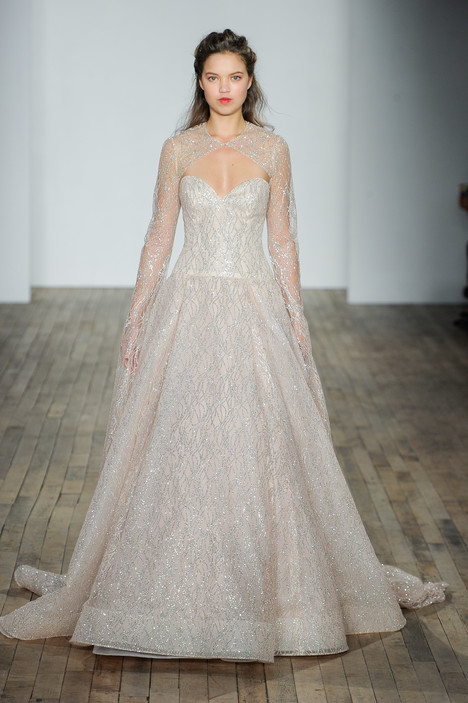 3801 Wedding                                          dress by Lazaro