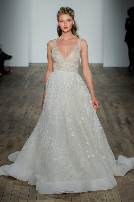 3805 Wedding                                          dress by Lazaro