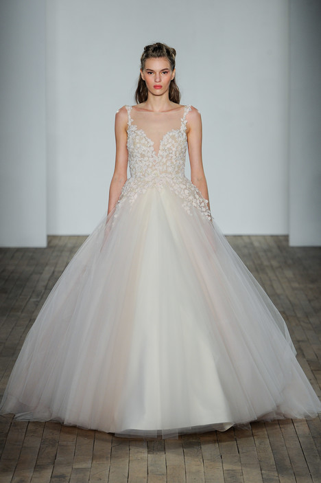 3807 Wedding                                          dress by Lazaro