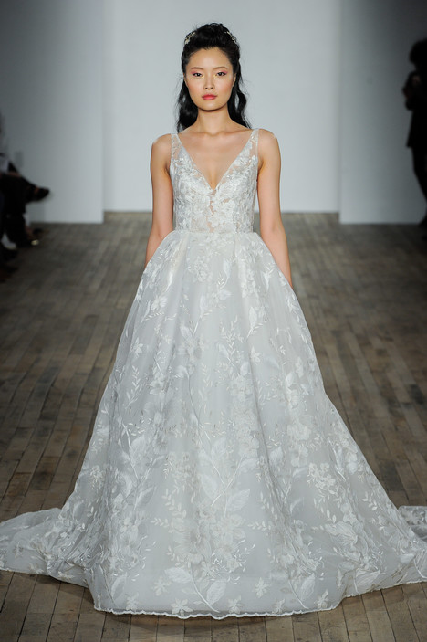 3812 Wedding                                          dress by Lazaro