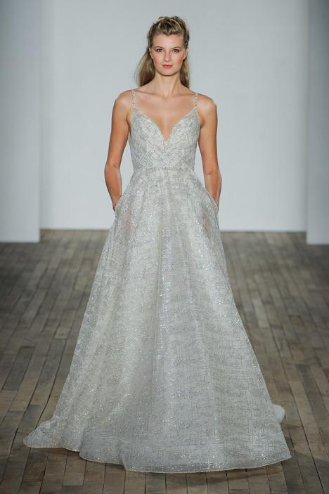 3814 Wedding                                          dress by Lazaro