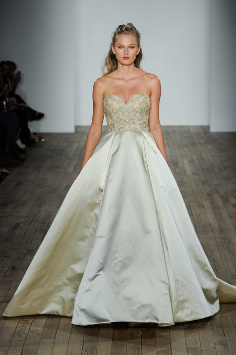 3815 Wedding                                          dress by Lazaro