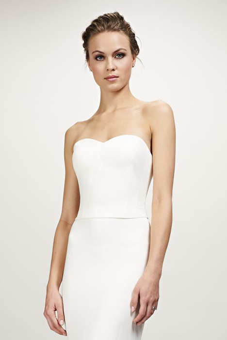 Brianna (890411) (top) Wedding                                          dress by Theia White Collection