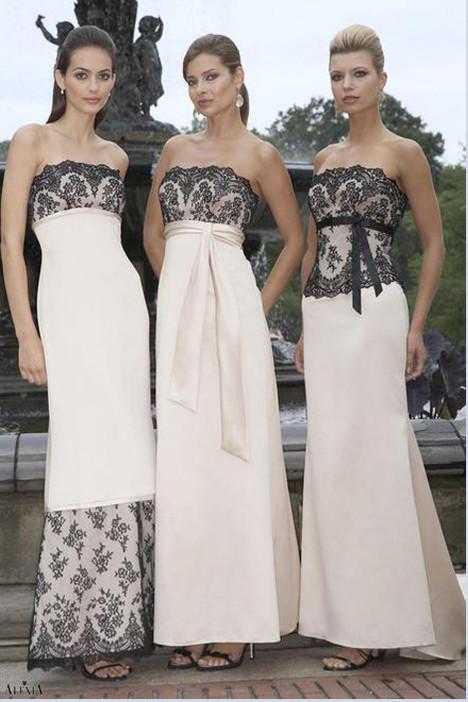 2808 (right) Bridesmaids                                      dress by Alexia Bridesmaids